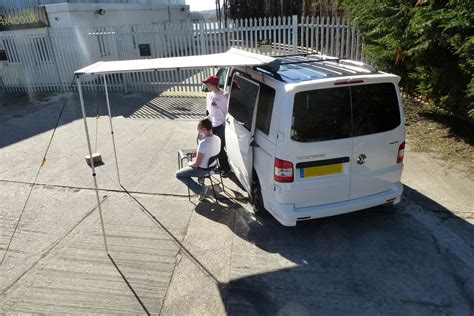 1 4 metre pull out awning for 4x4s vans motor homes small