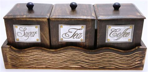 wooden kitchen canisters decorative kitchen canisters and jars