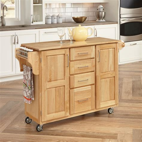 Home Styles Kitchen Cart by Home Styles Kitchen Cart With Storage 5089 95