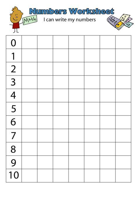 Spreadsheet Numbers by Number Writing Worksheets Www Justmommies