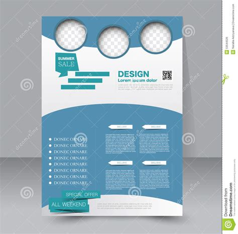 design poster template flyer template business brochure editable a4 poster