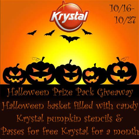 Halloween Giveaways Not Candy - krystal halloween prize pack giveaway jamericanspice