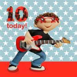 10 today boys 10th birthday card cards love kates