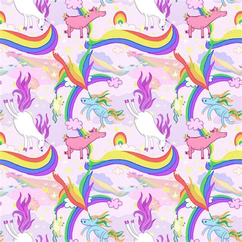 pattern for unicorn unicorn repeating pattern fabric by lauragallantart on