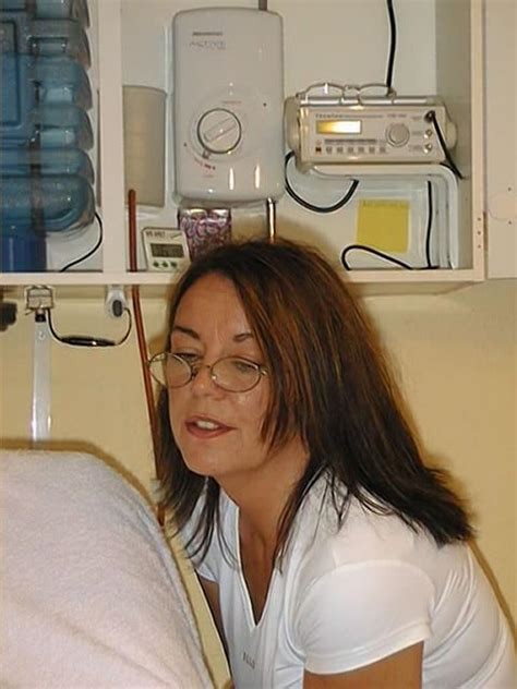 Detox Colonic Irrigation Center Valrie Williams by Modern Gravity Colon Hydrotherapy System Controls On