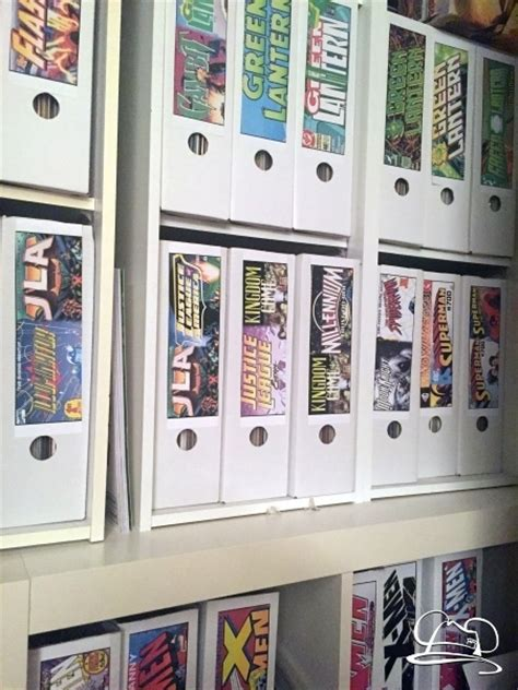 book storage stylish comic book storage