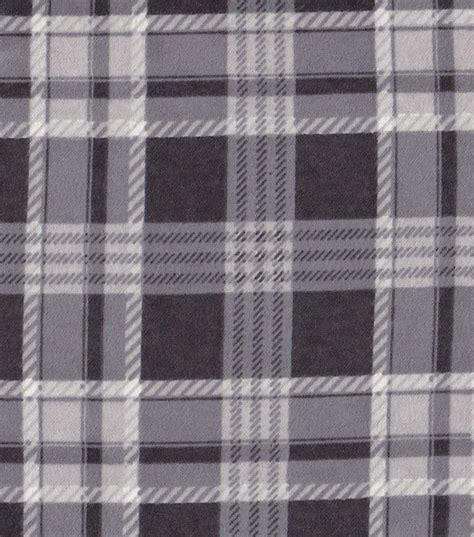 Kemeja Flannel Tartan Black Grey snuggle flannel fabric black gray plaidsnuggle flannel fabric black gray plaid