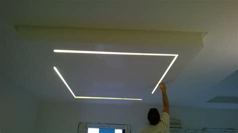controsoffitti illuminazione led foto controsoffitti con led di i m a costruzioni srls