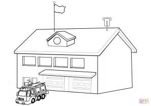 Fire Safety Coloring Page Coloring Page Of House On Fire Department Coloring Pages
