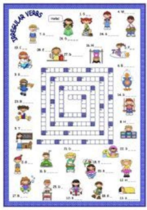 Diskon Puzzle Edukasi Match It Verb 1000 images about homeschooling irregular verb activities on irregular verbs