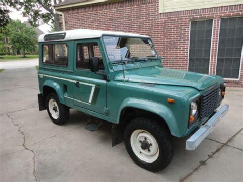 find used 1987 land rover defender 90 v8 station wagon 7