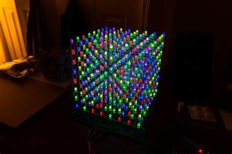 Led Projie rgb led cube 0x7d