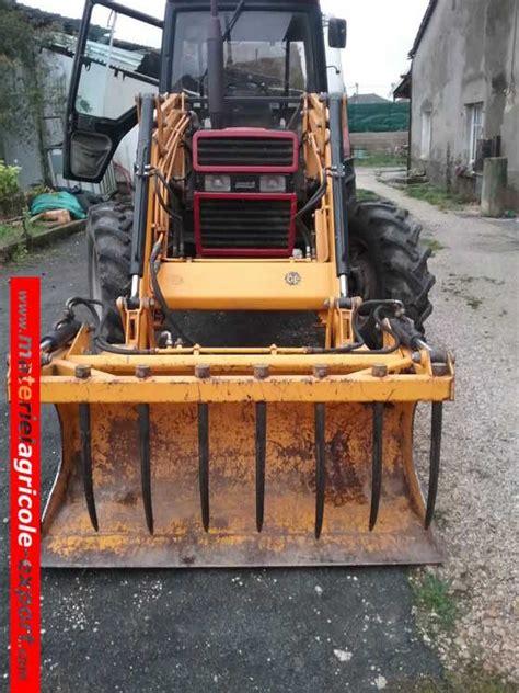 siege tracteur agricole occasion vendu ih 745 xl avec chargeur tenias tracteur