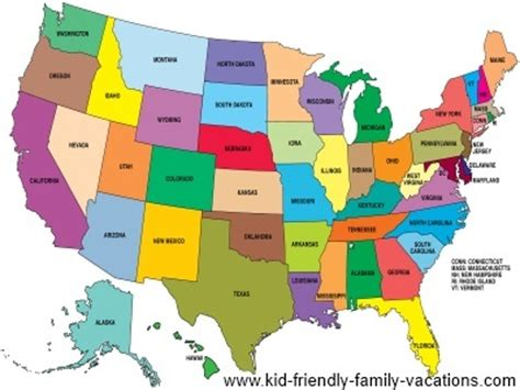 map of the united states kid friendly kid friendly map of the united states thefreebiedepot