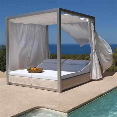 Outdoor Furniture Daybed Sunset Outdoor Daybed Contemporary Patio Chicago By Home Infatuation