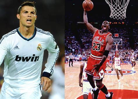 imagenes del jugador jordan cristiano ronaldo es como michael jordan futbol sapiens