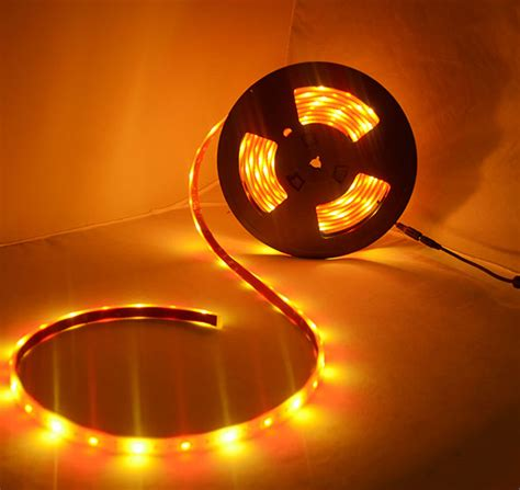 red and gold led strip light 12v 5050smd ip68 waterproof