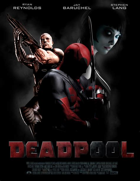 dealpool marvel hero poster film movie star american style deadpool poster ii by mrsteiners on deviantart