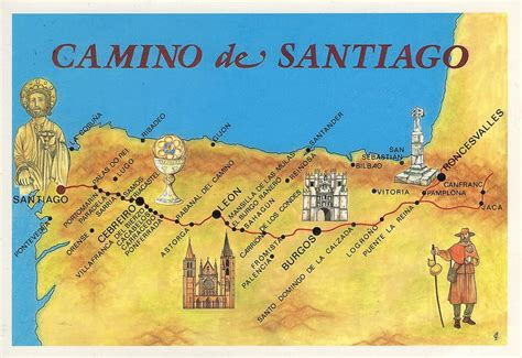 camino de santiago pilgrimage route follow the camino a unique scented journey to santiago de