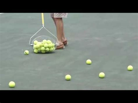 tennis ball collector tennis ball collector youtube
