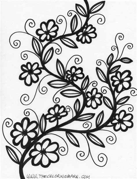 printable flower pictures to color beautiful flowers beautiful flower coloring pages beautiful flower coloring