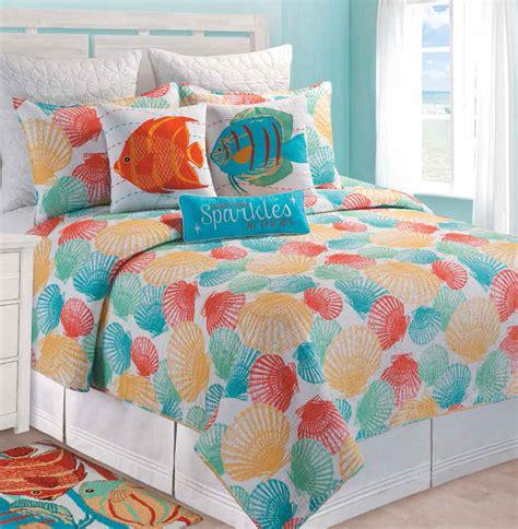 beachy comforters captiva island by c f quilts beddingsuperstore com
