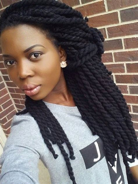 hairstyles made with wool all hair makeover yarn braids twist