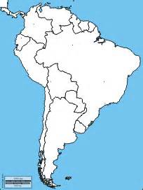 unlabeled map of central and south america south america free maps free blank maps free outline