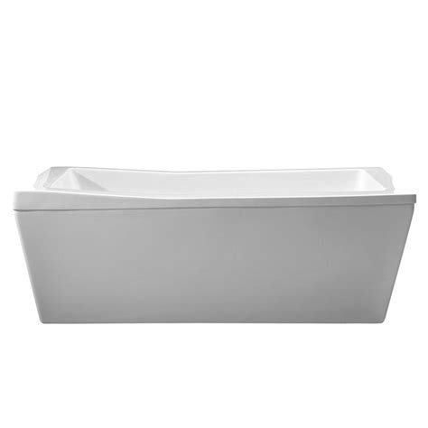 what is a reversible drain bathtub schon amelia 5 75 ft reversible drain freestanding