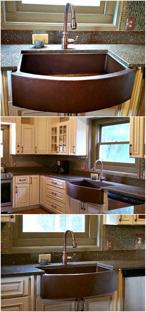copper sink installation best 25 copper farmhouse sinks ideas on
