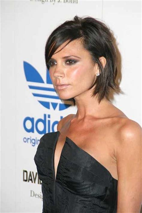 victoria beckham short brown hair 25 best short celebrity hairstyles for 2013 2014 short