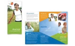church brochure templates free church youth ministry brochure template word publisher