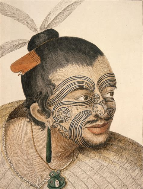 tattoo history wikipedia file maorichief1784 jpg wikimedia commons