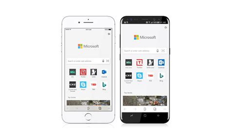 microsoft android microsoft announces edge for android and ios microsoft launcher