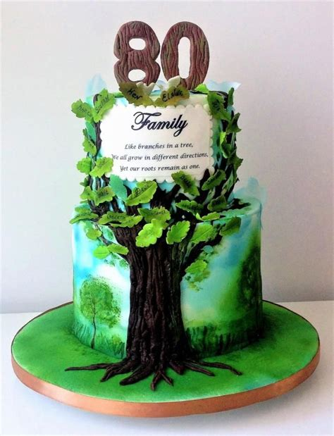 tree cake ideas best 25 family tree cakes ideas on