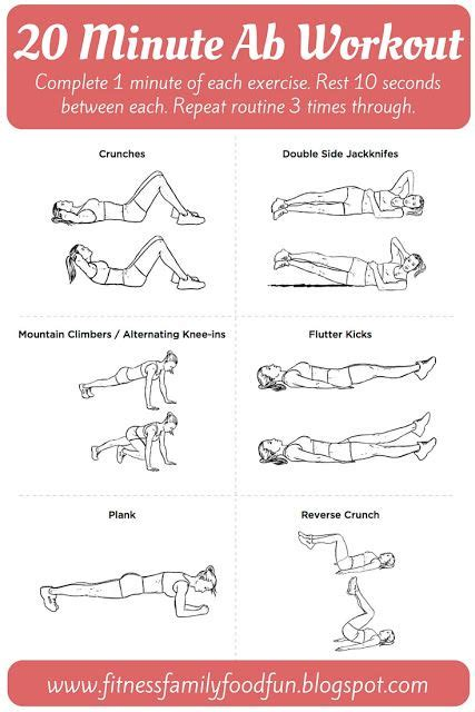 10 20 minute ab workouts that will help you say bye