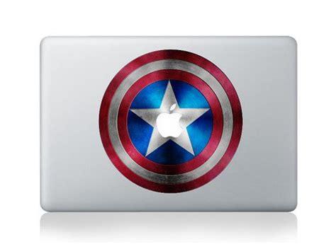 Tokomonster Decal Sticker Apple Iphone Captain America 4 Buah 1 captain america shield macbook decal mac book pro air