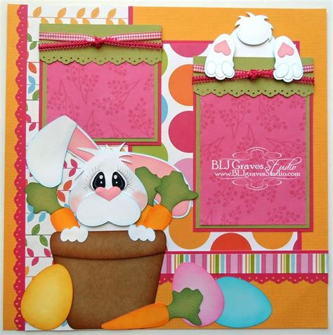 scrapbook layout easter 17 best images about cards easter on pinterest cricut