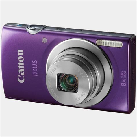 Canon Ixus 145 Hd 8x camara canon ixus 145 16mp 8x hd violeta funda 4gb