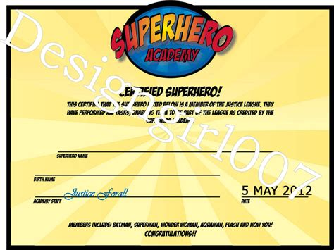superhero training invitations party invitations ideas