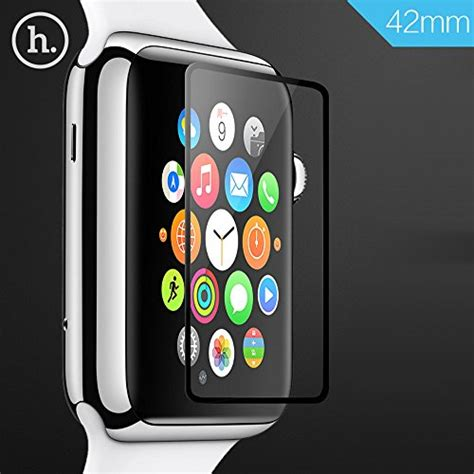 Hoco Tempered Glass For Apple 42mm Series 1 2 3 apple screen protector tabpow hoco tempered glass ghost series ultra thin 0 1mm