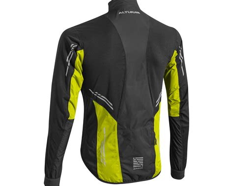 mtb waterproof altura podium night vision waterproof cycling jacket