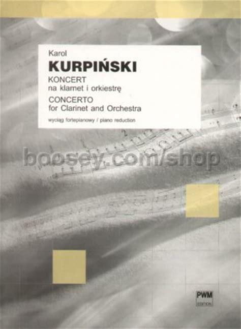 kurpinski, karol clarinet concerto in bb major