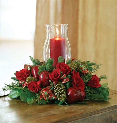 christmas candle centerpiece in baton rouge la biilly