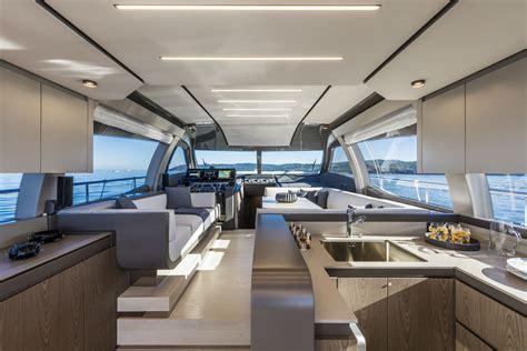 yacht interni interni ferretti yachts 550
