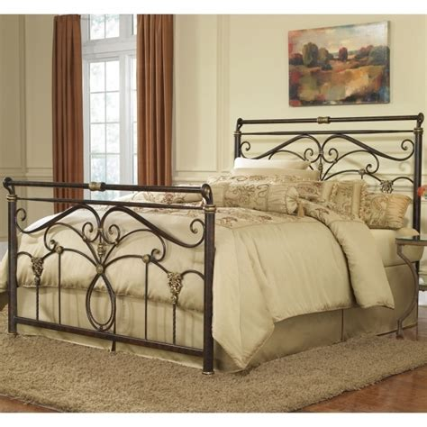 king metal bed frame headboard footboard doral king metal bed frame headboard footboard picture 00