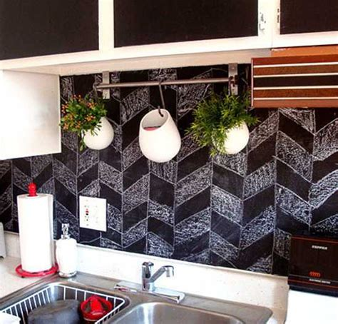 chalkboard paint decorating ideas creative interior decorating ideas 26 black chalkboard