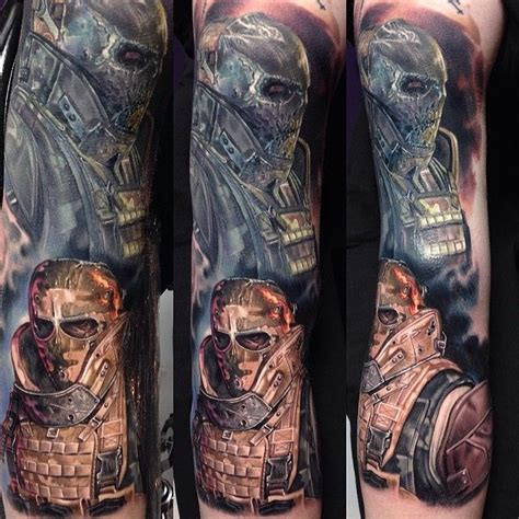 Tattoo Army Of Two | paulackertattoo s photo quot worked on tim s army of two 3 4