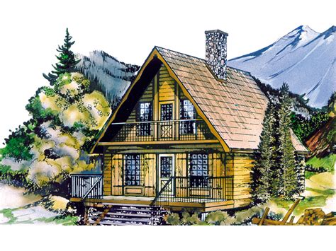 shadow mountain cottage home plan 062d 0031 house plans