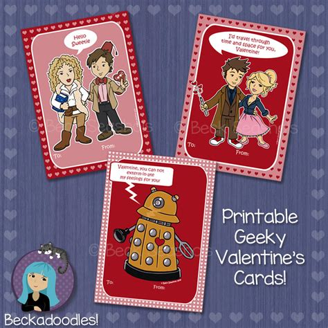 doctor who valentines day cards printable doctor who s day card by beckadoodles